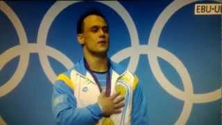 Церемония награждения Илья Ильина на Олимпиаде 2012