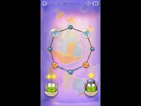 Cut The Rope Time Travel Level 1-13 Walkthrough | The Middle Ages Level 1-13 Walkthrough
