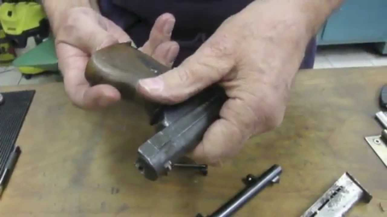 How to field strip a Mauser Pistol Model 1910 - YouTube