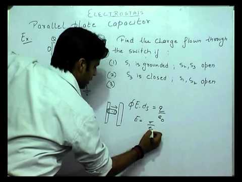 Parallel Plate Capacitor and examples based on it - Electrostatics Part-32