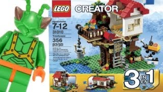 Lego Creator Tree House (all Three Models!) Review 31010