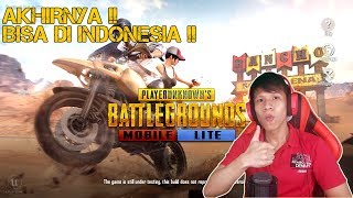 AKHIRNYA Bisa Di Indonesia !! PUBG Mobile LITE (PUBG Versi Ringan) Cuma 200an MB Buat HP Ram 1 GB