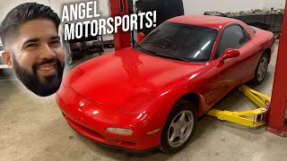 homepage tile video photo for MAZDA DEALER RUINS FD ENGINE REBUILD!!! (rotary god helps out!)