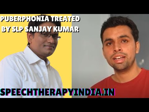 speech therapy in India, by speech therapist SLP Sanjay an AIIMS alumnus for  Voice disorder, Before