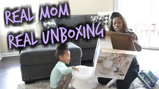 MY SIZE POTTY FOR TWINS UNBOXING & ASSEMBLY | Potty Training