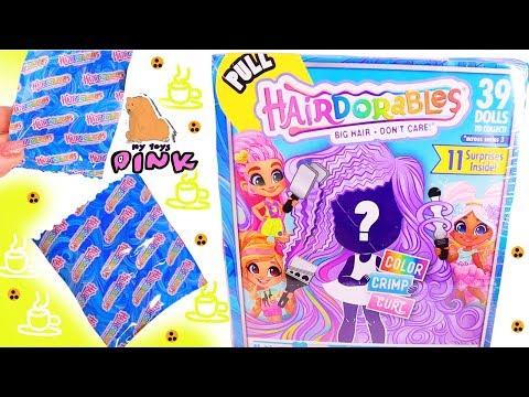 КТО ПРИШЁЛ? Куклы Hairdorables Dolls Series 3! Jo Jo SIWA, SHOPKINS Мультик Барби + Распаковка