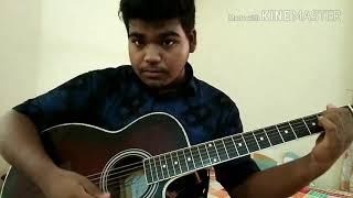 Avijog/Ovijog guitar lesson (tutorial)  full    from drama Best friend    piran khan ft tanveer evan