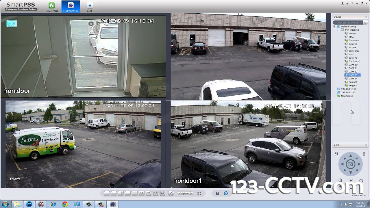 Smart PSS Software for Remote Viewing CCTV Cameras   123CCTV