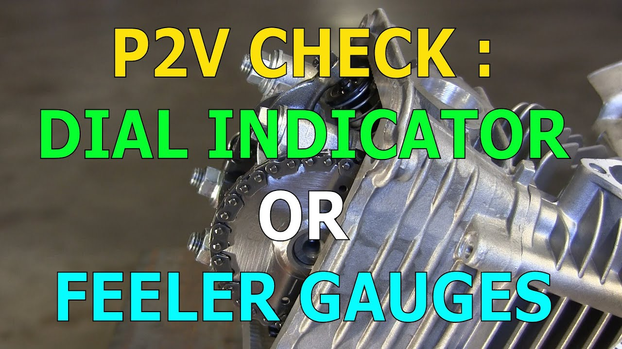 Checking Piston To Valve Clearance With A Dial Indicator Or Feeler Noga Power Guard Gauges