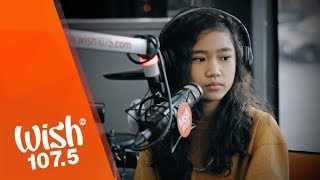 Alex Bruce performs Mind As A Weapon LIVE on Wish 107 5 Bus