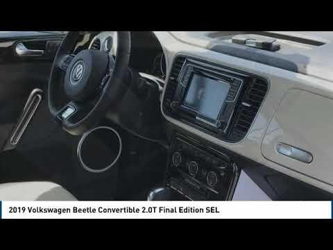 2019 Volkswagen Beetle Convertible 2019 Volkswagen Beetle Convertible 2.0T Final Edition SEL FOR SAL