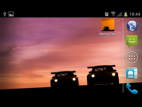 Racing Cars Live Wallpaper