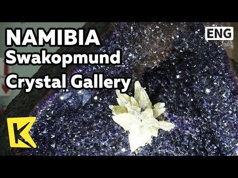 【K】Namibia Travel-Swakopmund[나미비아 여행-스바코프문트]크리스탈 전시장/Crystal/Gallery/Museum