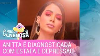 Gambar cover Anitta é diagnosticada com estafa e depressão