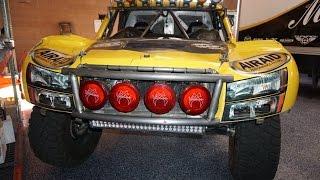 Baja 1000 Race Stadium Super Trucks Ultra 4 Trophy Truck Builder ~ Tour & Interview