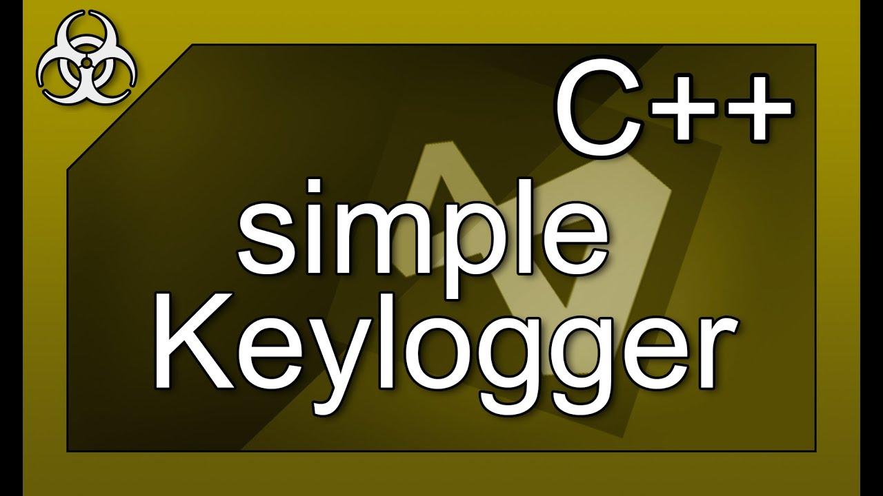 simple Keylogger Virus with Hidden Window and Log C++ Tutorial Visual Studio