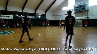 Handball. U17 boys. Sarius cup 2017. Tatabanya KC (HUN) - Motor Zaporozhye (UKR) - 18:22 (2nd half)