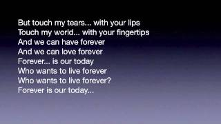 Queen - Who wants to live forever ( Lyrics ) (2)