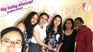 Baby Shower| Indian Mother| Baby Shower Games|canada Couple