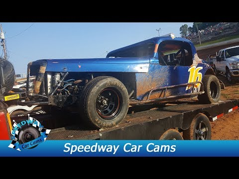#16 Will Carey - Classic - 9-3-17 Tazewell Speedway - In Car Camera