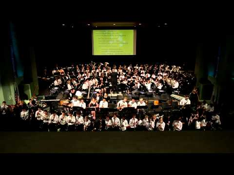 Stairway to the Stars Performed by Combined Bands Tom Whaley Conductor