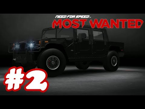 Need for Speed Most Wanted 2018 Gameplay #2 - Racing Adventure Android - Unlock Hummer H1 Alpha - 동영상