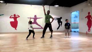 Kids hip hop basic routine