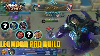 PRO BUILD LEOMORD DIJAMIN AUTO SAVAGE - HERO FIGHTER YANG SUDAH DITUNGGU2