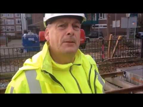 Vernieuwing overwegen trambaan IJsselstein (2016)