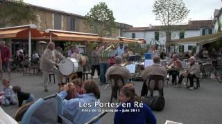 Ile de Ré - Juin 2011 - les Portes en ré -  Hotel des Portes - Les marais salants.