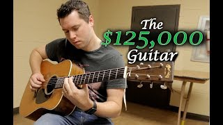 Playing a $125,000 Guitar