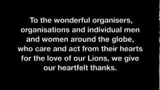 Global March for Lions - all countries - Mobile Devices