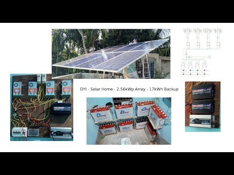 2.5kW Off-Grid Solar System | How to Calculate Solar Power System for Home
