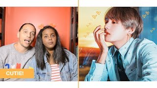 A VIDEO OF TAEHYUNG TO MAKE YOUR HEART GO BOOM BOOM REACTION (BTS REACTION)