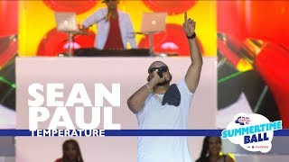 Sean Paul - 'Temperature'  (Live At Capital's Summertime Ball 2017)