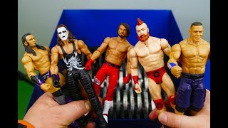 wwe wrestling action figure toy show