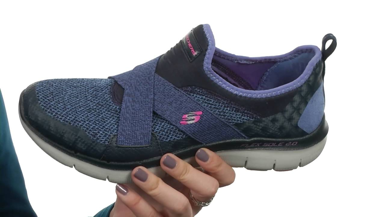 Skechers Flex Appeal 2.0-New Image Noir PhhDsY