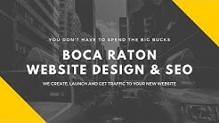 Boca Raton Website Design And SEO