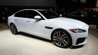 First Look: Jaguar XF at the New York Auto Show