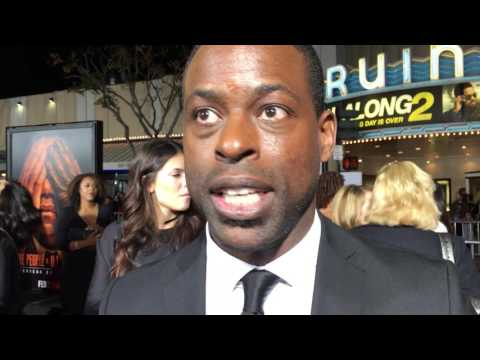Sterling K. Brown on the red carpet for 'The People v. O.J
