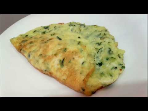 ���� Zucchini Omelet