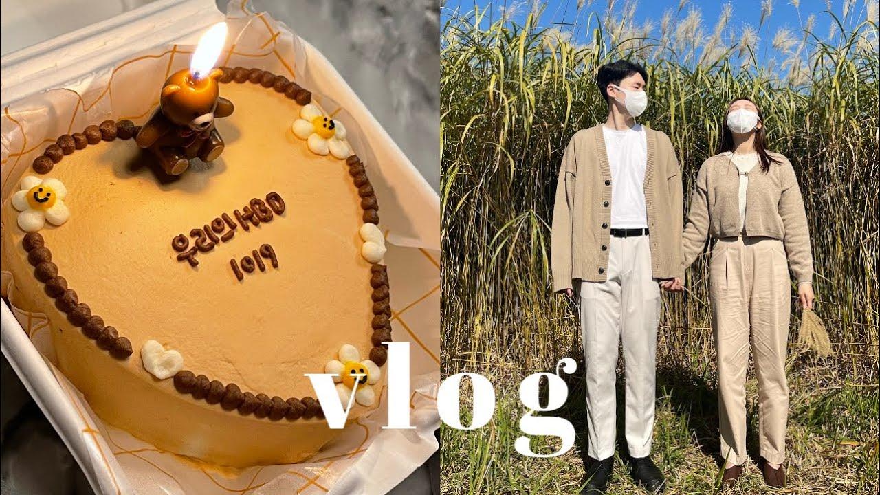 𝐯𝐥𝐨𝐠 • 생일 주간 브이로그 🎉 이솝 향수 사고. 케이크 불고. 하늘 공원 인생샷 남기는 일상