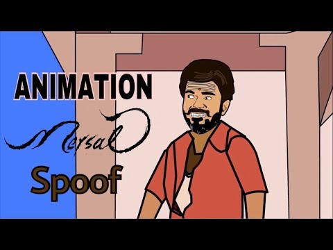 Mersal Animation Spoof Vijay Meets Couples On Valentine S Day