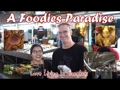 Pak Nam Fresh Seafood Market close New BTS Bangkok
