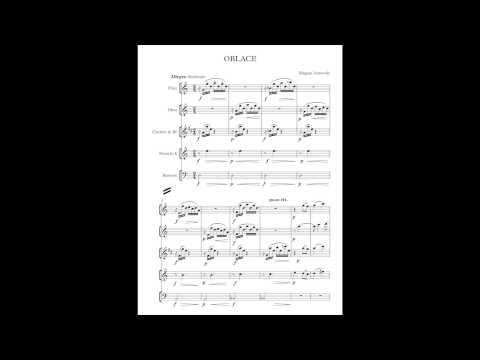 """Oblace"" - Blagoja Ivanovski (for Woodwind Quintet)"