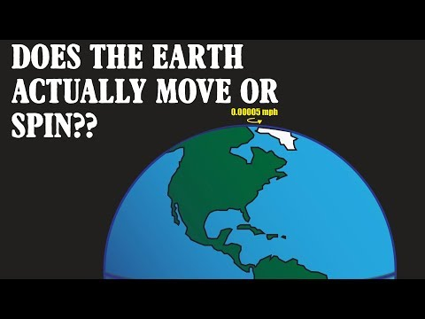 does the earth move