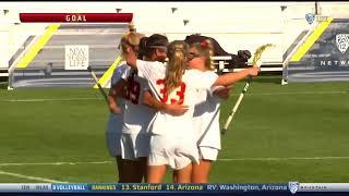 Women's Lacrosse: USC 19, Arizona State 7 - Highlights 4/26/18
