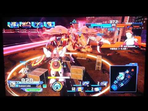 GBO Next - 1st Sortie.Gundam Sandrock(PS3)