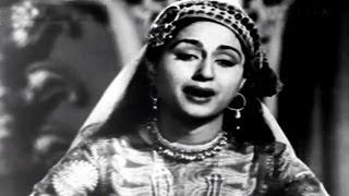 Dua Kar Gham-E-Dil - Bina Rai, Lata Mangeshkar, Anarkali Song