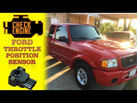 DIY replace throttle position sensor 2004 ford ranger